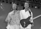 030 BW Sting and Phil Collins Live Aid 1985
